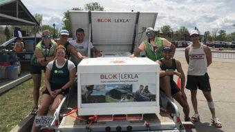 Système Blok - Compétition d'aviron