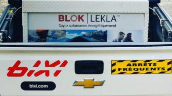 Système Blok - Partenariat avec Bixi