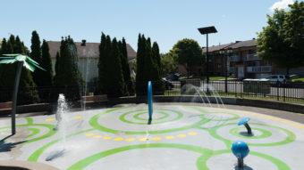 Système Pivo - Parc et jeux d'eau